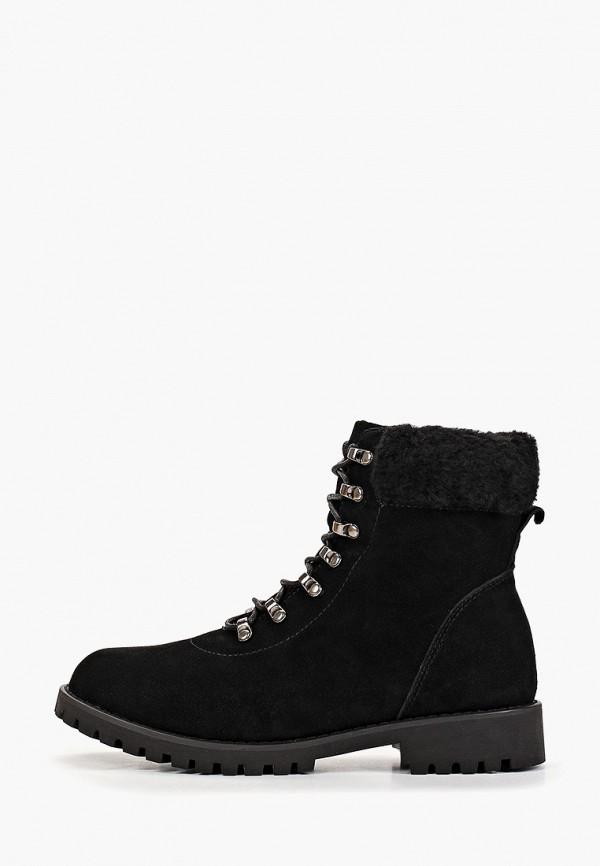 женские ботинки patrol, черные