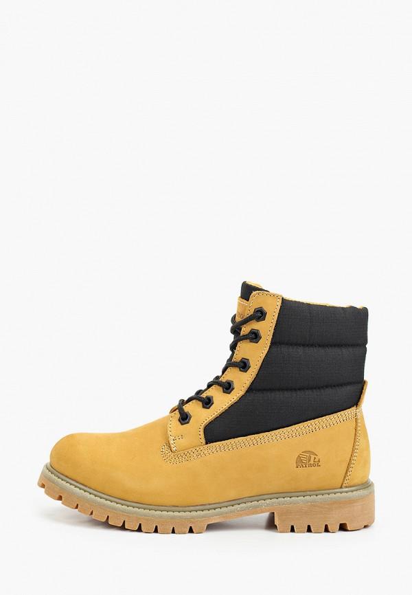 женские ботинки patrol, желтые