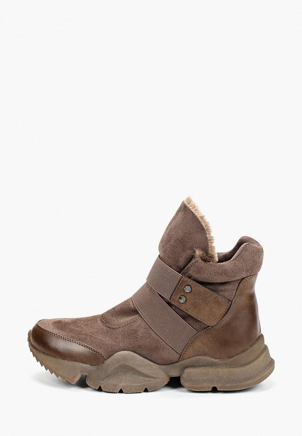 женские кроссовки patrol, коричневые