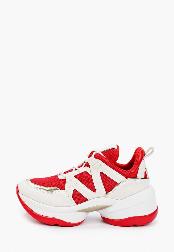 женские кроссовки patrol, красные