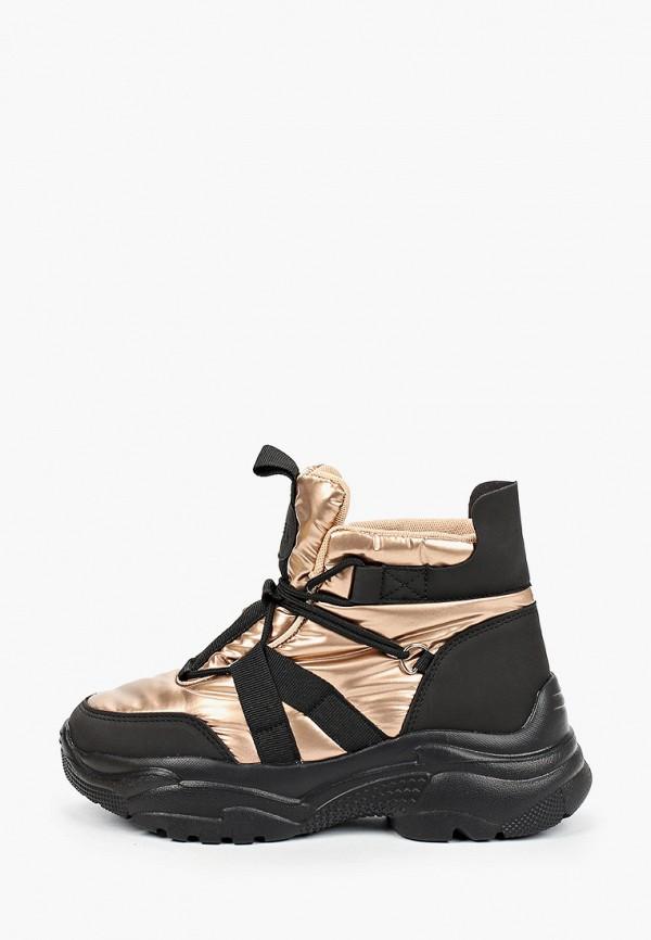 женские ботинки patrol, золотые