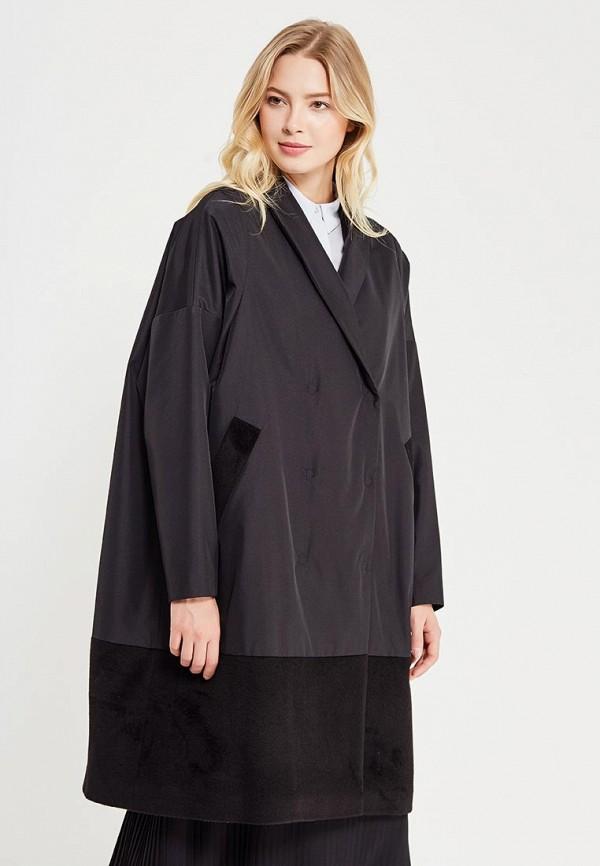 Пальто Parole by Victoria Andreyanova, pa057ewvtb40, черный, Осень-зима 2017/2018  - купить со скидкой