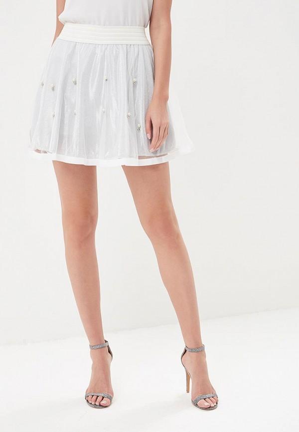 женская юбка paccio, серебряная