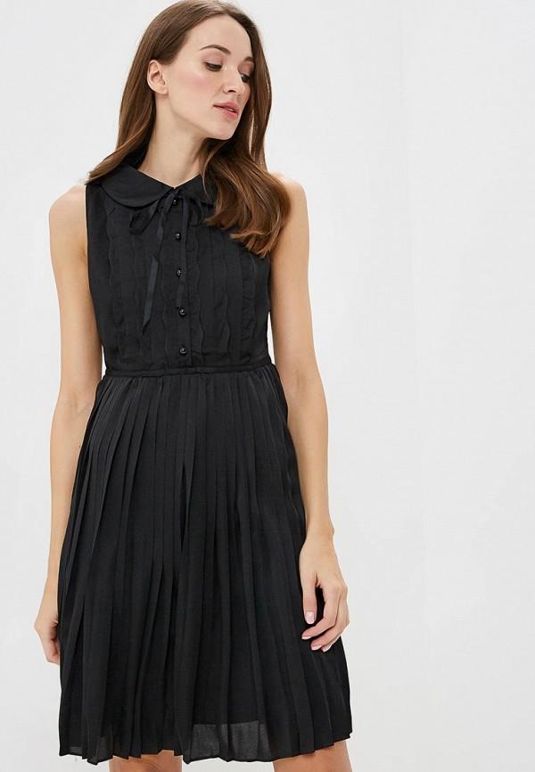 b0d88f4da26 Платье PA060EWDBMZ9 черного цвета Paccio за 3 440 руб. купить в ...