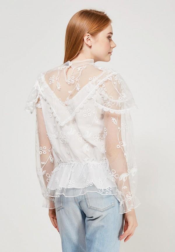 Фото 3 - женскую блузку Paccio белого цвета