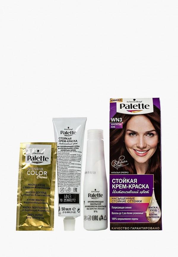 Купить Краска для волос Palette, Стойкая WN3 Золотистый кофе, 100 мл, pa061lwjok64, Осень-зима 2018/2019