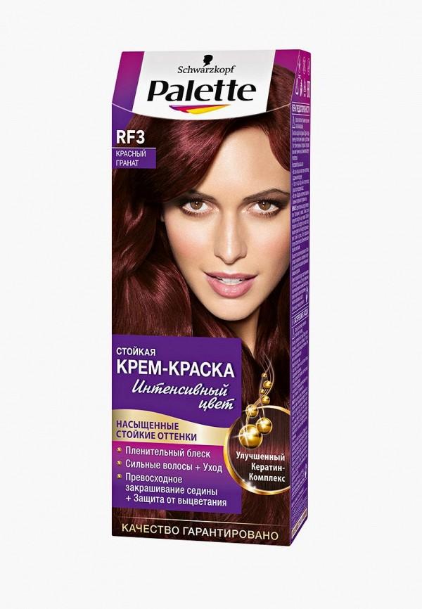 Купить Краска для волос Palette, Стойкая RF3 Красный гранат, 100 мл, PA061LWJOK75, Весна-лето 2018