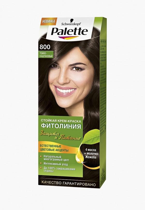 Купить Краска для волос Palette, ФИТОЛИНИЯ 800 Темно-каштановый, 110 мл, PA061LWJOL05, Весна-лето 2018