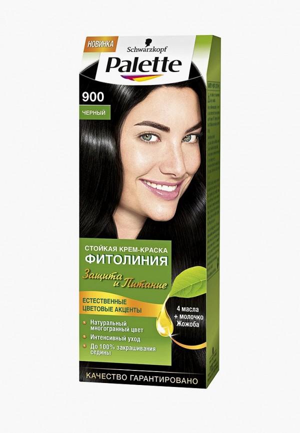 Купить Краска для волос Palette, ФИТОЛИНИЯ 900 Черный, 110 мл, PA061LWJOL08, Осень-зима 2018/2019