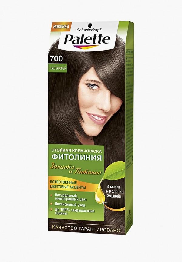 Купить Краска для волос Palette, ФИТОЛИНИЯ 700 Каштановый, 110 мл, pa061lwjol11, Осень-зима 2018/2019