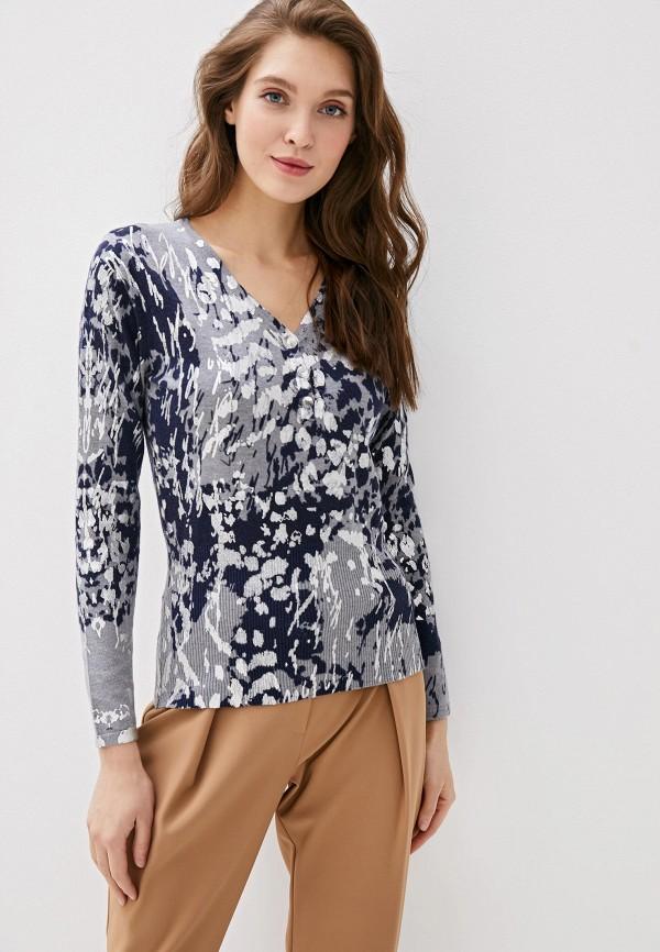 женский пуловер passioni, серый