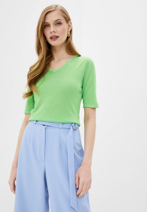 женский пуловер passioni, зеленый