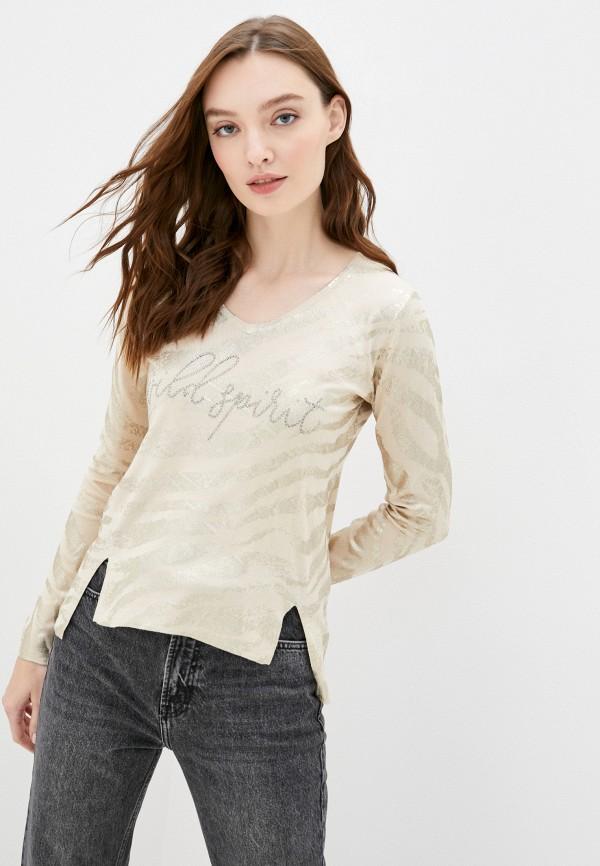 женский пуловер passioni, бежевый