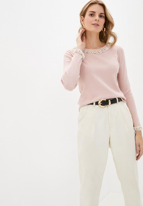 женский джемпер passioni, розовый