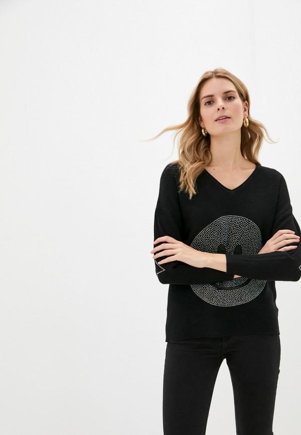 женский пуловер passioni, черный