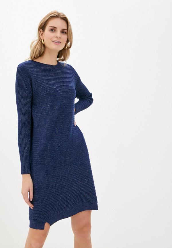 женское платье passioni, синее