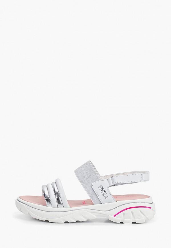 сандалии paola для девочки, белые