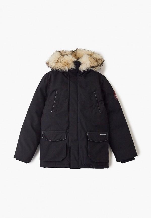 куртка paragoose малыши, черная