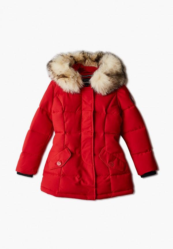 куртка paragoose малыши, красная
