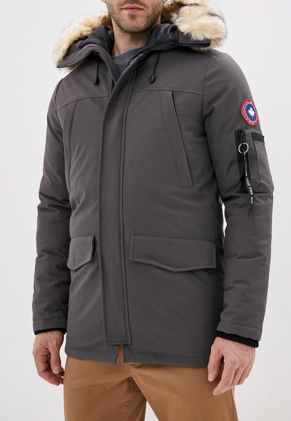 мужская куртка paragoose, серая
