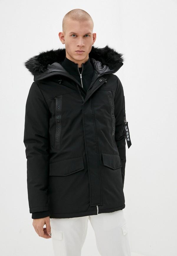 мужская куртка paragoose, черная