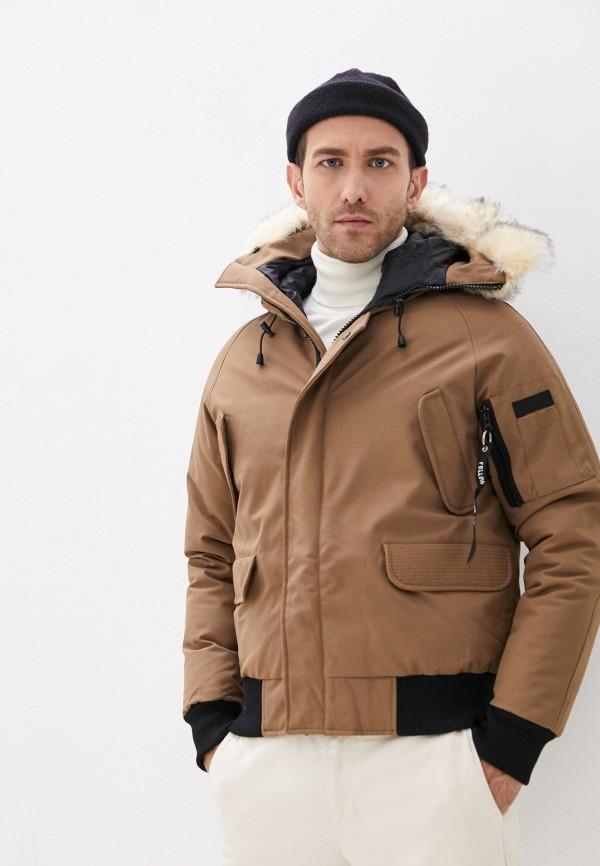 мужская куртка paragoose, коричневая
