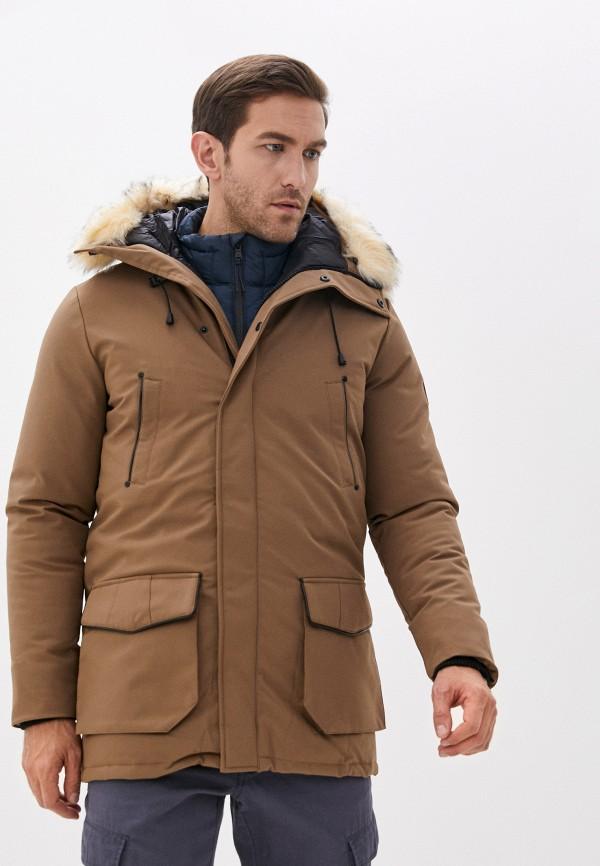 мужская куртка paragoose, бежевая