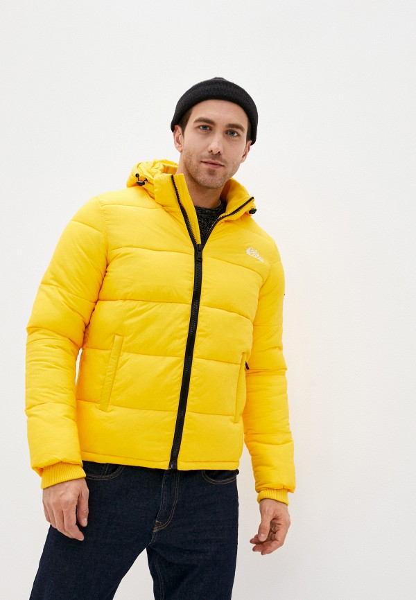 мужская куртка paragoose, желтая