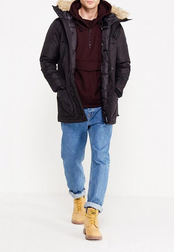 Фото 2 - Куртку утепленная Paragoose черного цвета