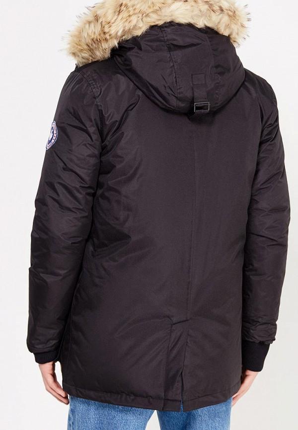 Фото 3 - Куртку утепленная Paragoose черного цвета