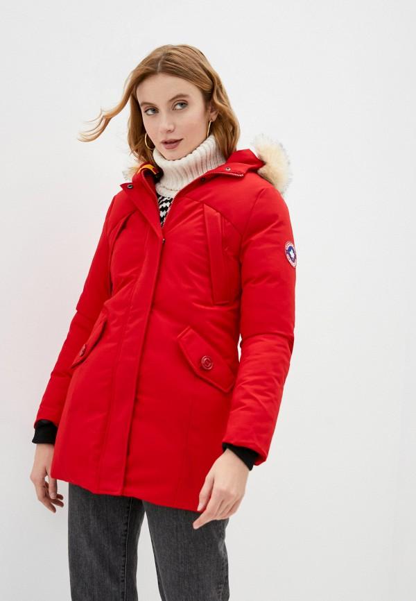 женская куртка paragoose, красная