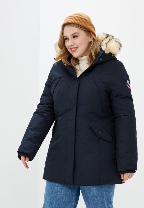 женская куртка paragoose, синяя