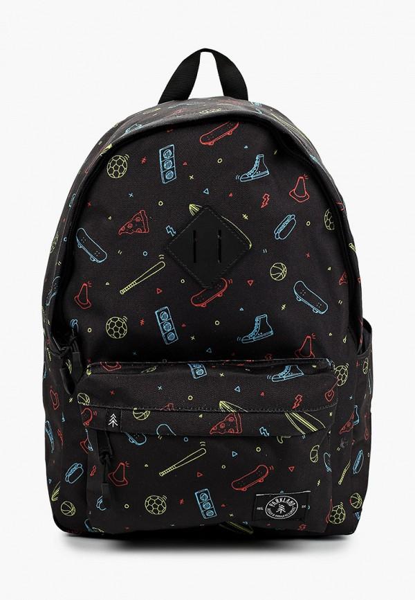 рюкзак parkland для мальчика, черный
