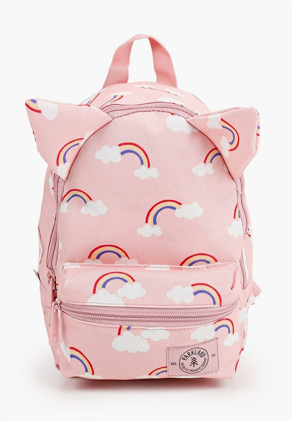 рюкзак parkland для девочки, розовый