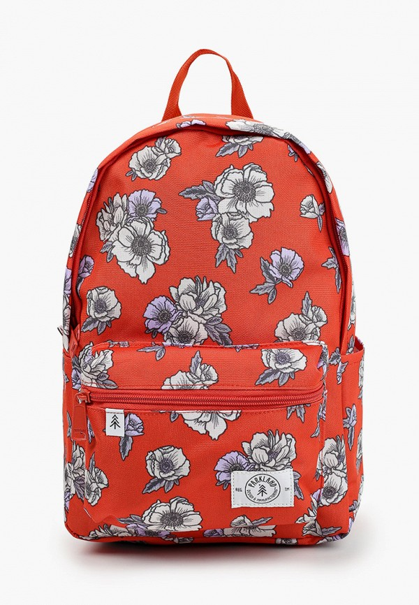 рюкзак parkland для девочки, красный