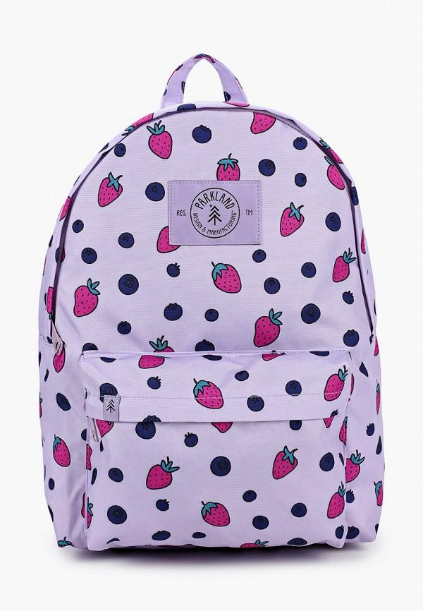 рюкзак parkland для девочки, фиолетовый
