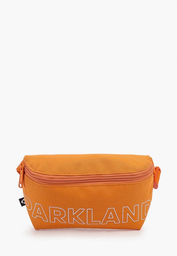 женская сумка parkland, оранжевая