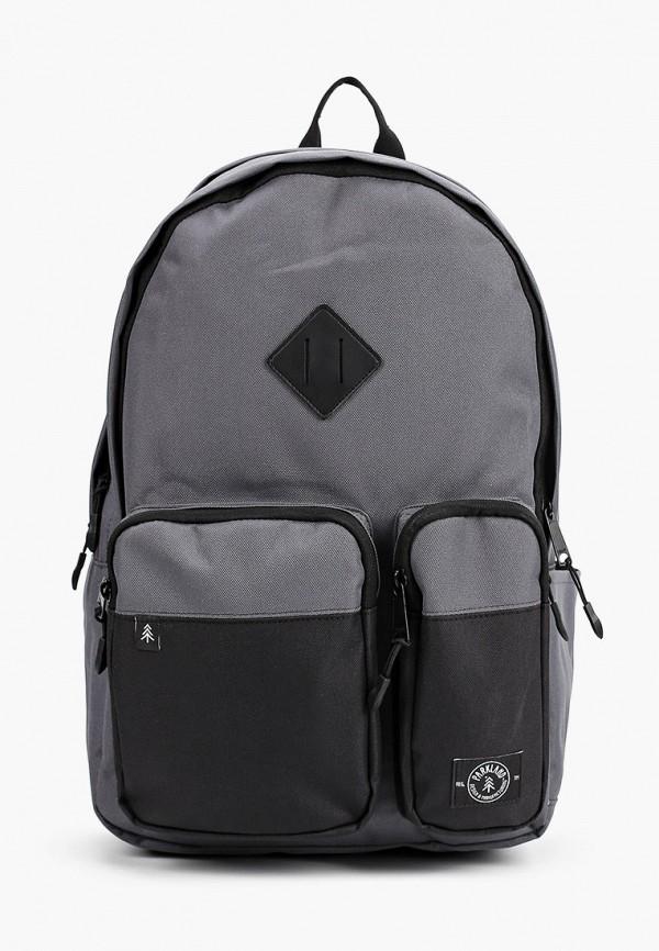 женский рюкзак parkland, серый