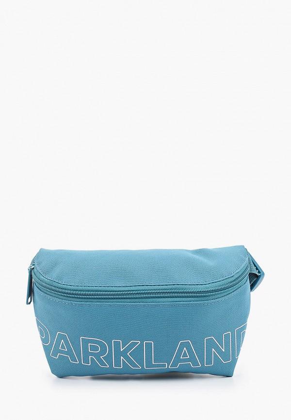 женская сумка parkland, голубая