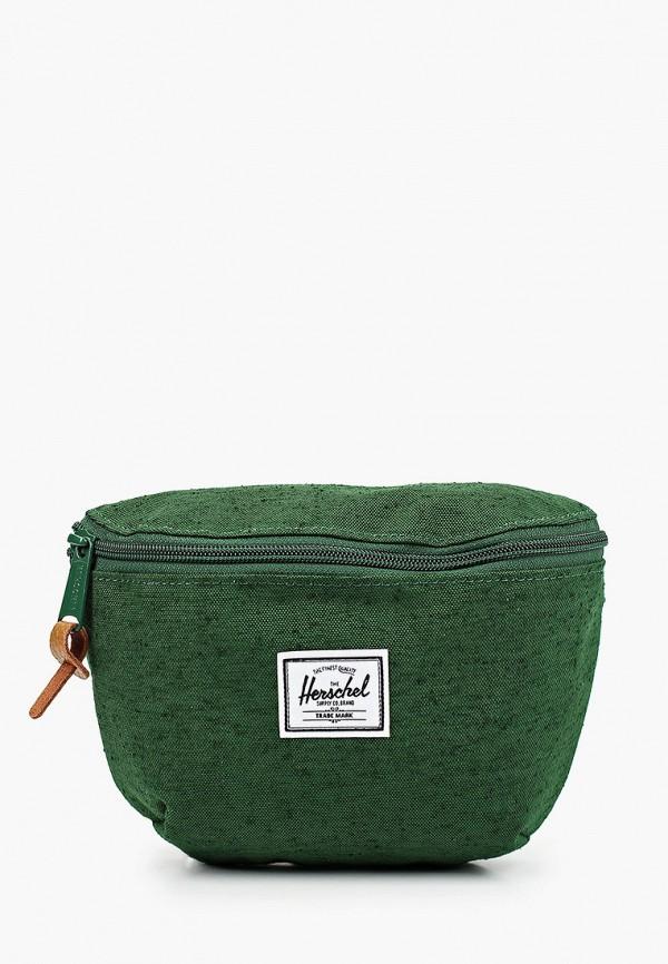 женская сумка herschel supply co, зеленая