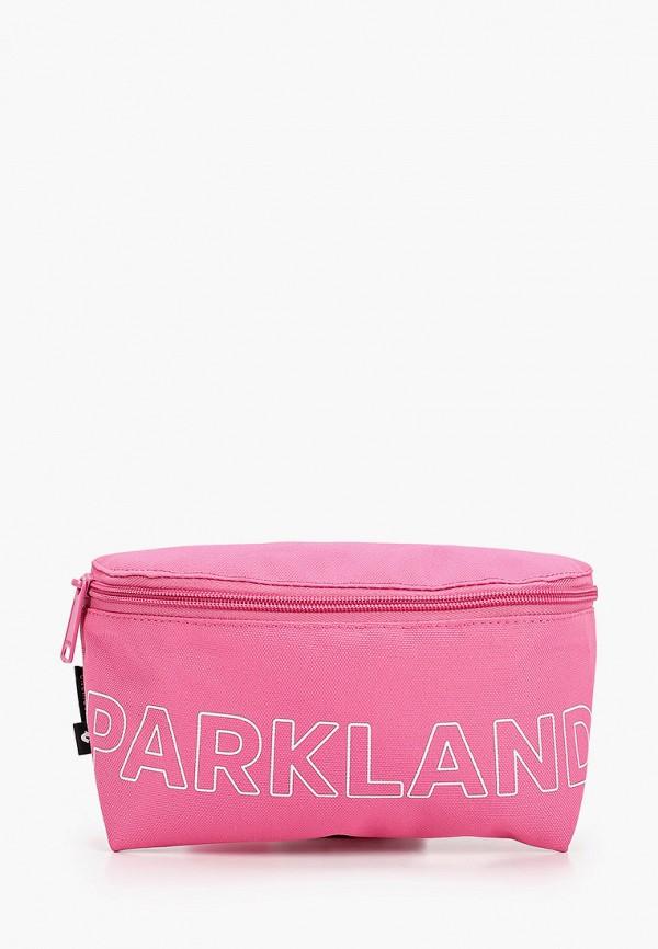 женская сумка parkland, розовая
