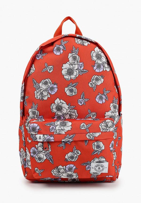 женский рюкзак parkland, красный