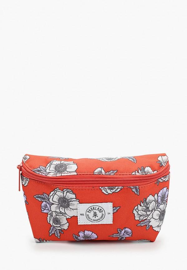женская сумка parkland, красная