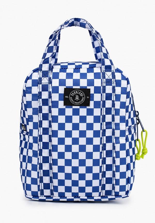 женская сумка parkland, синяя