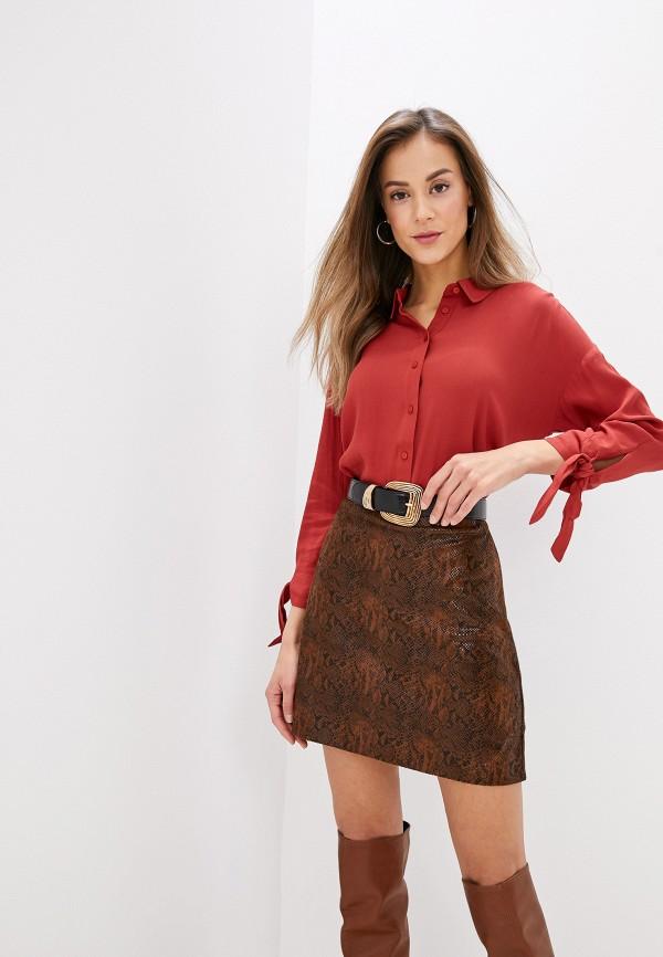 женская блузка part two, красная