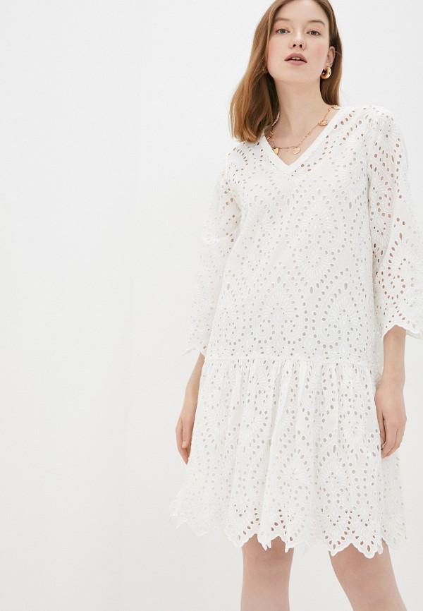 женское повседневные платье part two, белое