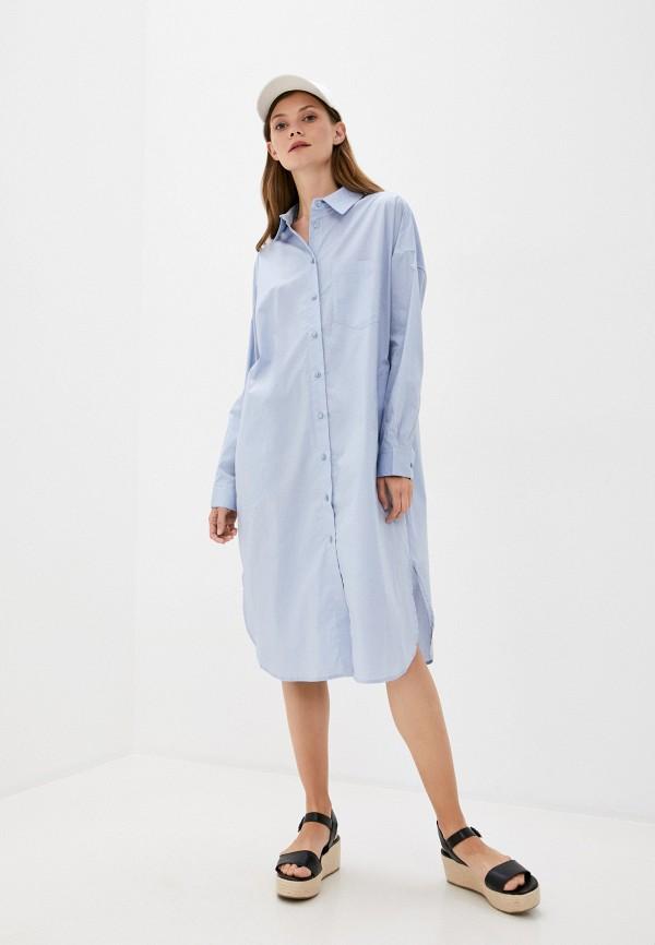 женское платье part two, голубое