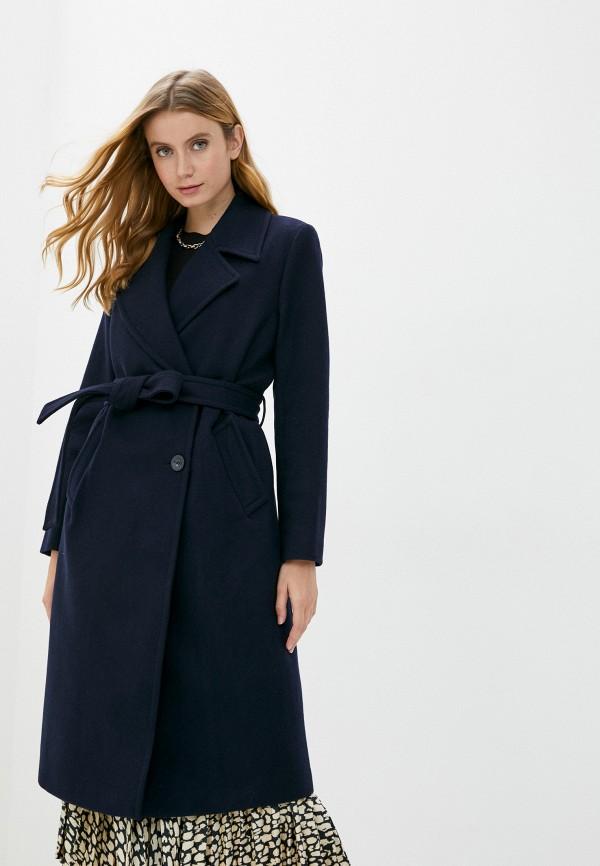 женское пальто part two, синее