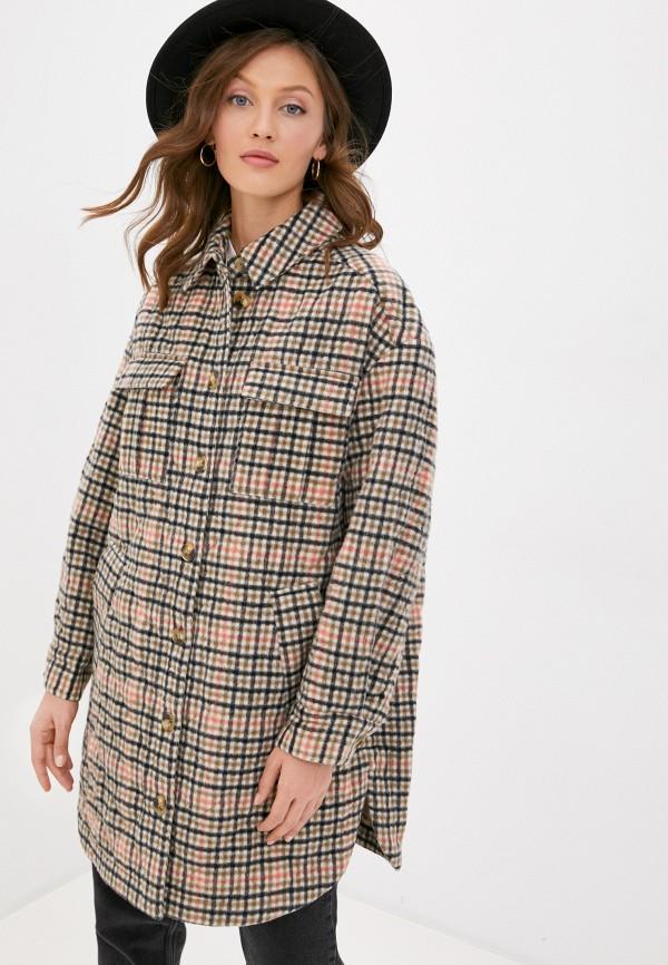 женское пальто part two, бежевое