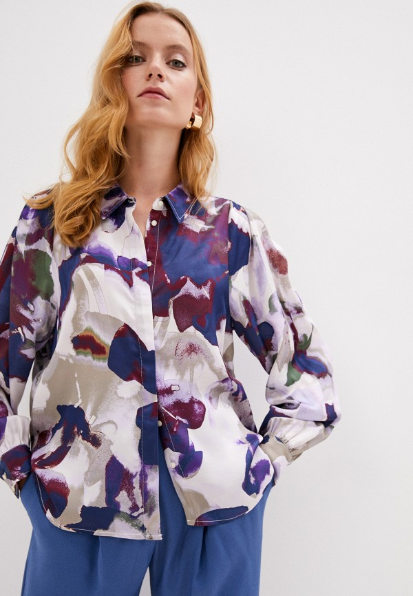 женская блузка part two, разноцветная